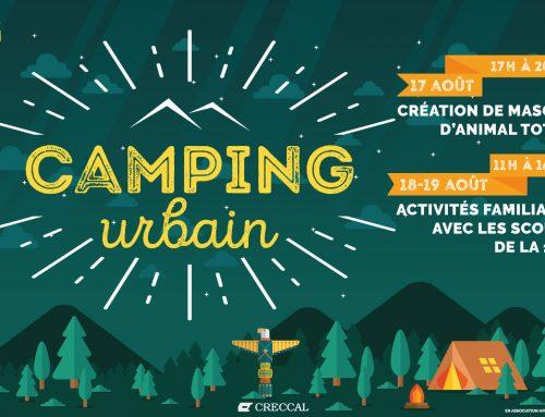 Camping Urbain 2018