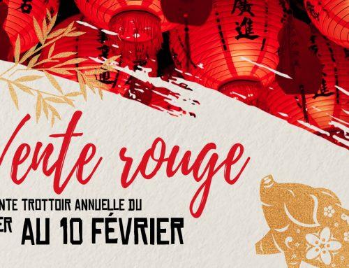 Vente Rouge 2019