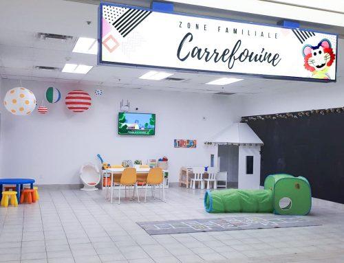 Un nouvel espace pour les familles au Carrefour de la Pointe